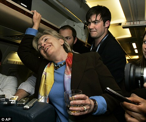 Hillary Gets Snockered - This Photo Needs a Caption [Reader Post]
