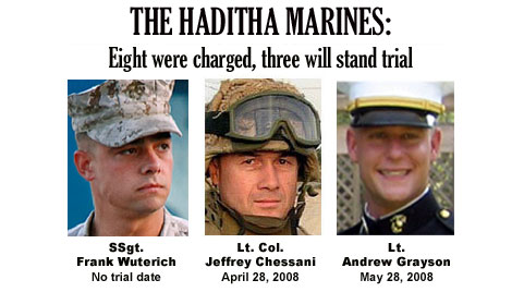 Another Case Dropped Against Haditha Marine