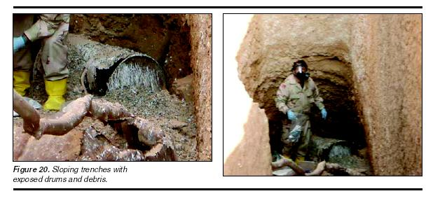 Nope, Saddam had no chemical weapons-right?  I mean, this is just naturally occuring toxic sand.