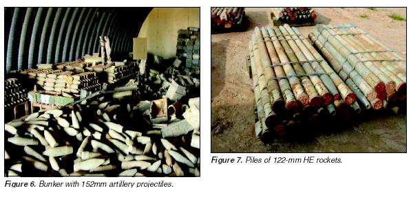mts of chemical rounds stored at dual use chlorine and pesticide plants