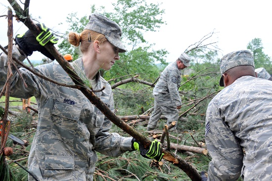 Army National Guard deployed after deadly tornadoes rip across the Midwest