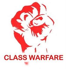 CLASS WARFARE FIST