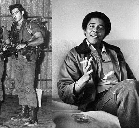 Netanyahu and Obama, same age, the Lion and the Liar