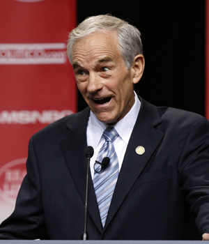 Why do Ron Paul supporters say that the people want Ron Paul