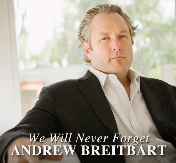 you will not be forgotten Andrew breitbart