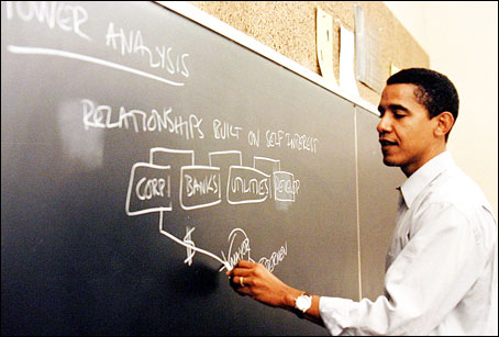 obama teaches alinsky