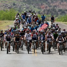 President Bush Rides With Wounded Warriors