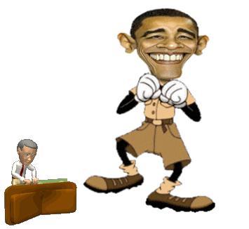 obama tap dance