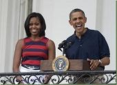 obama michelle july 4