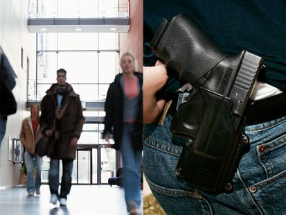 an argument in favor of weapons on a college campus I remain, despite owning guns and understanding them well, strongly opposed to allowing students, faculty and staff to carry weapons on college campuses i will readily concede and agree that the vast, vast, vast majority of concealed-carry permit holders are law-abiding citizens.