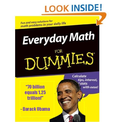 obama math for dummies