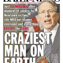 And they say Wayne LaPierre is crazy? I'll show you crazy.