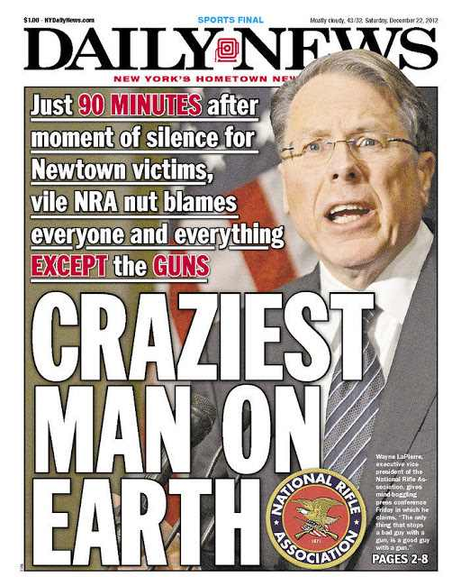 ny daily news cover lapierre
