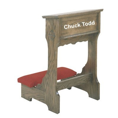 chuck todd kneeler