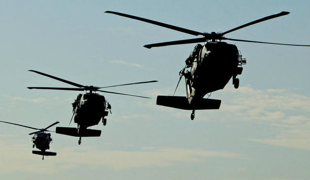 Black hawk helicoptersAP