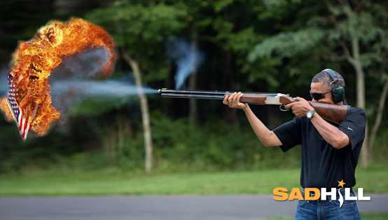 obama-skeet-shooting-obama-gun-control-obama-shotgun-sad-hill-news3