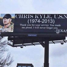 Funeral Procession for Chris Kyle, Texan National Hero