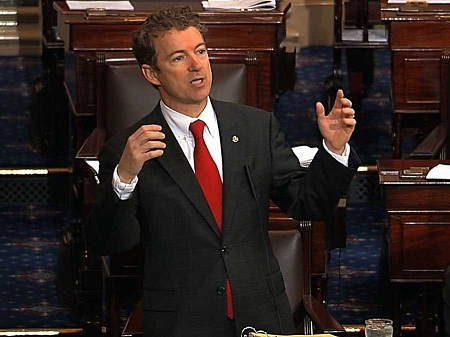 Rand-Paul-filibustering