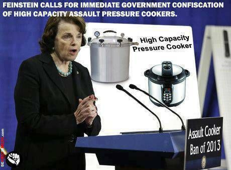 feinsein pressure cooker ban