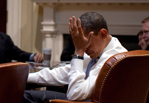 Image result for obama facepalm
