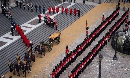 thatcher funeral 2