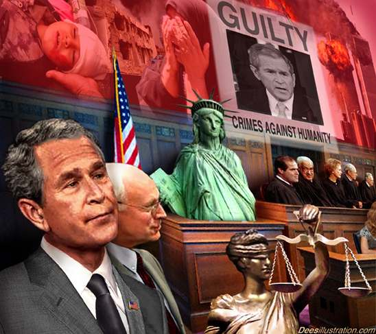 Bush-and-Cheney-at-war-crimes-trial