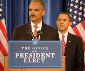 Holder : Obama
