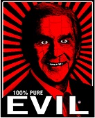 evil-bush-sticker