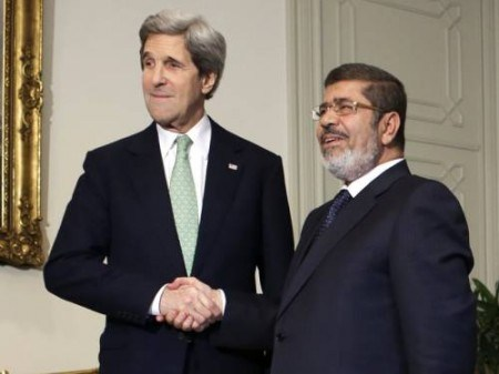kerry and morsi