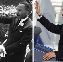 Barack, you are no Martin Luther King