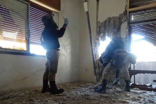 syria inspectors