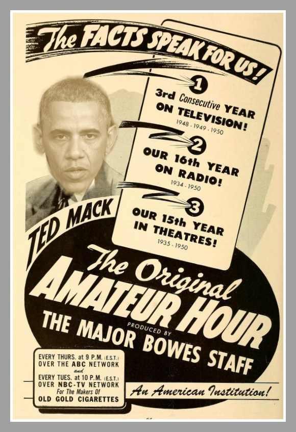 Major Bowes Amateur Hour. Amateurhour.jpg. Template:Non-free use rational