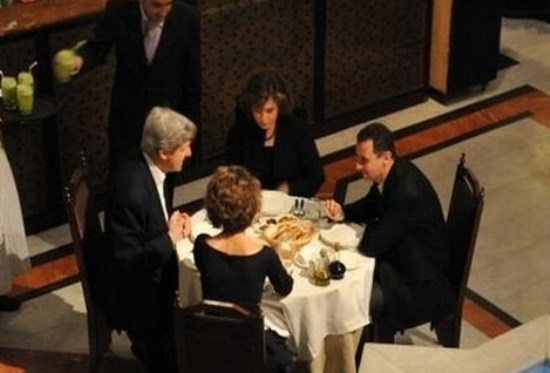 kerry and assad
