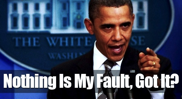 obama not my fault