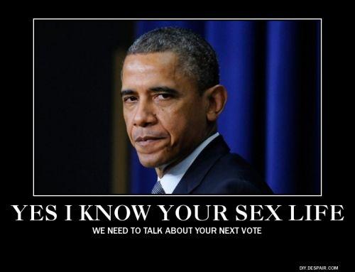 obama sex life