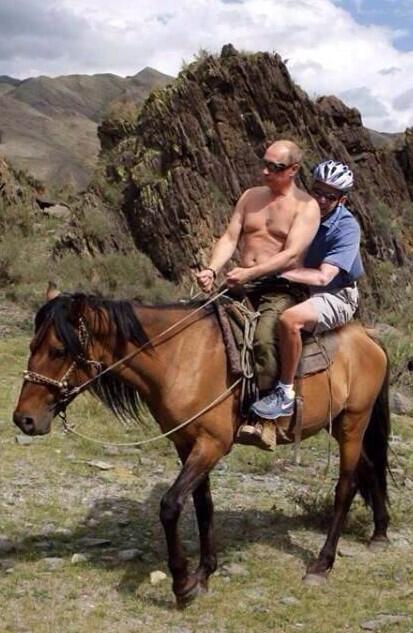 putin obama ride