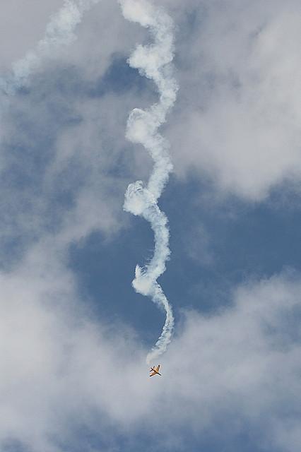 aircraft spin