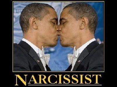 obama kiss self a