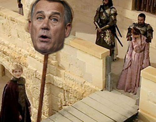 boehner head on stick