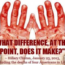 Benghazi explained: Hillary may as well have killed them herself