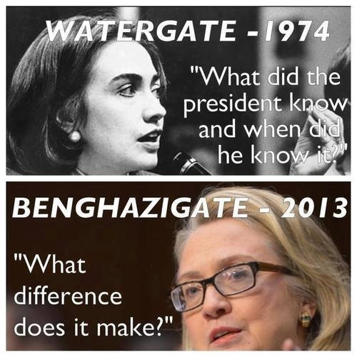 hillary then and now