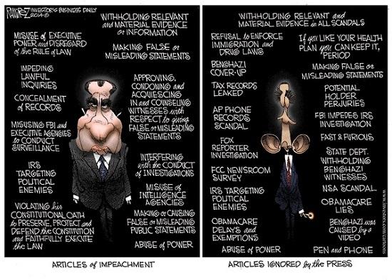 nixon obama impeach