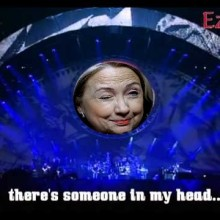 Hey, I thought you said Hillary didn't have any lasting brain damage!