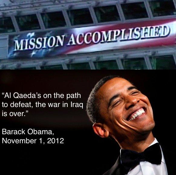 obama mission accomplished