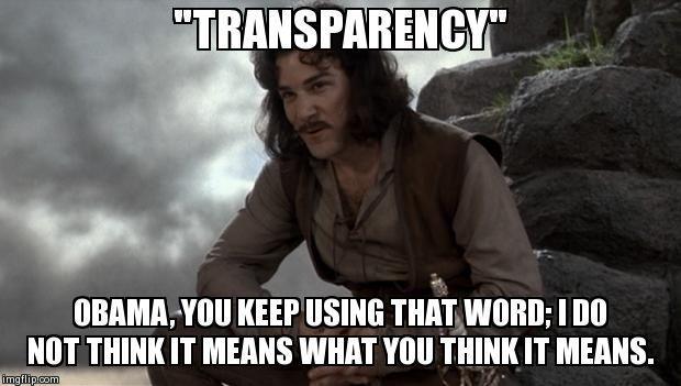 Obama-Transparent