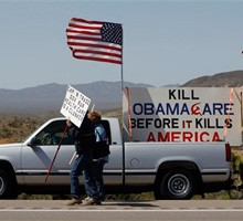 Obamacare architect seals the deal to kill it