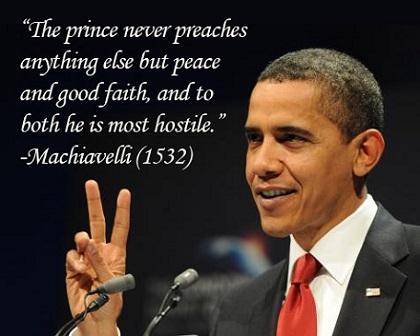 obama machiavelli