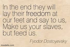 Are you ready to accept slavery?