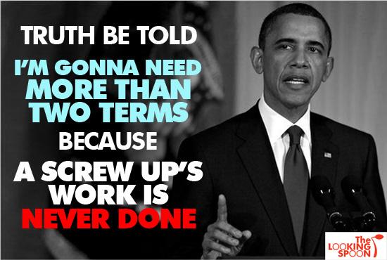 screw up obama