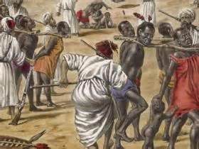 Transporting Africans to the Coast
